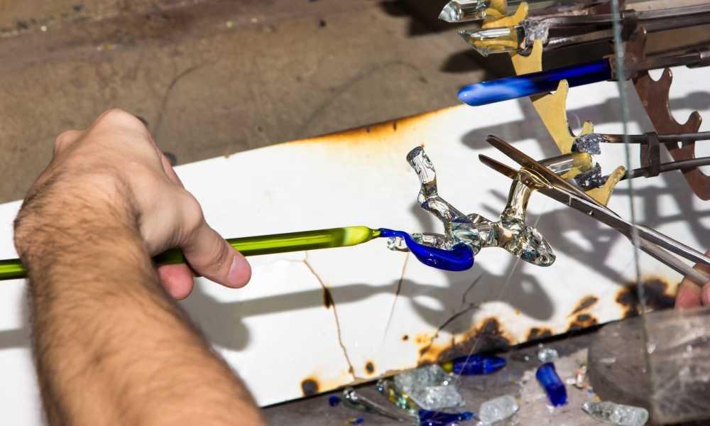 A2Zsale 8 Piece Colored Pyrex Glassblowing Tubes