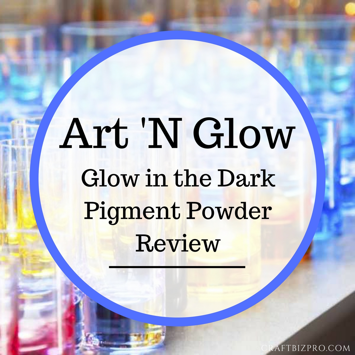 Art 'N Glow Glow in the Dark Pigment Powder Review