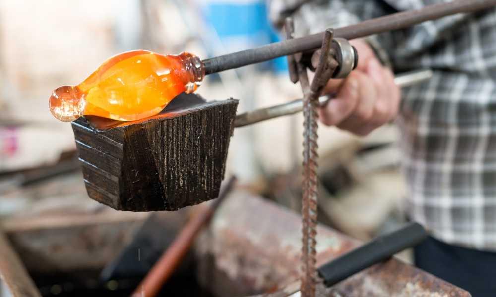 Devardi Glass Lampwork, Beadmaking Roller Rounding Graphite Marver