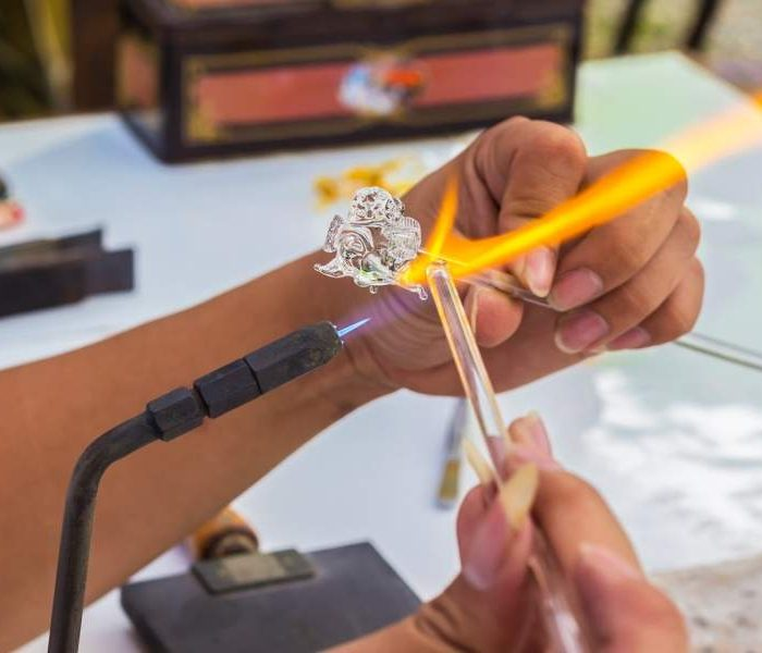 Glass Blowing Methods Used by Murano Glassmakers