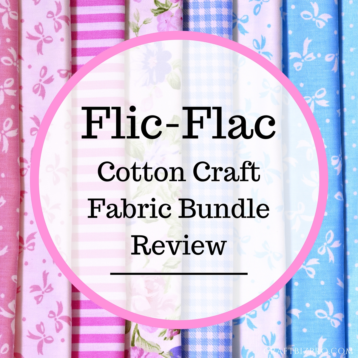 Flic-Flac Cotton Craft Fabric Bundle Review