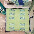 Grip stitch free motion machine quilting disks