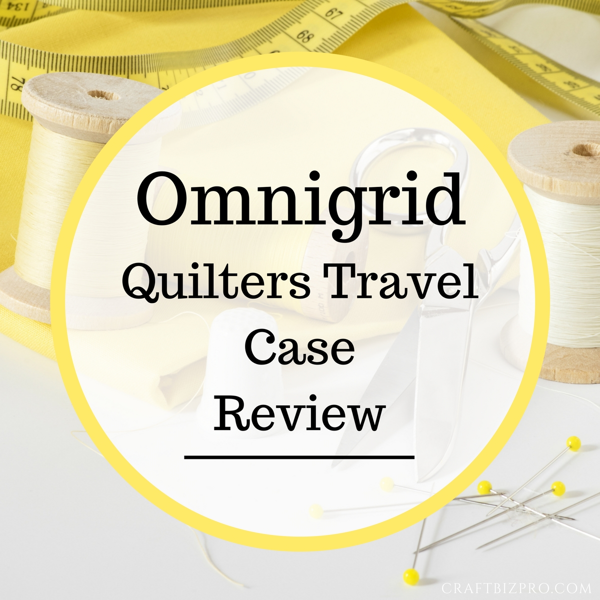 Omnigrid Quilters Travel Case Review